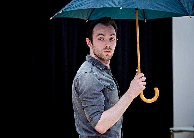 Conor and umbrella